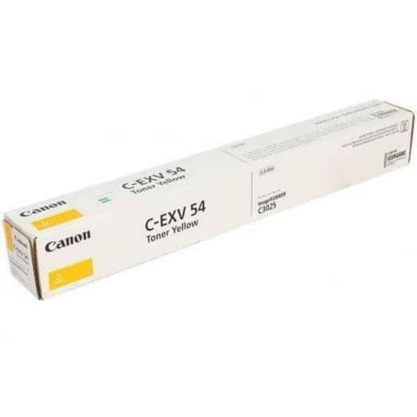 Canon image runner c3025i/IR C3025 (C-exv54y) toner-Yellow